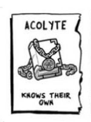 acolyte 5e background - knows their own